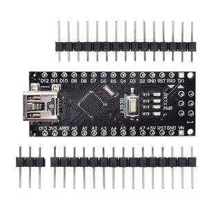 Image 3 - 무료 배송! 10PCS 나노 V3 3.0 컨트롤러 호환 나노 CH340 USB 드라이버 없음 케이블 24l01 나노 v3.0 Arduino 용