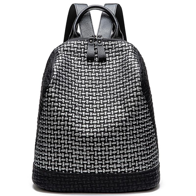 New Women'S Backpack Casual Large Capacity Backpack Handbag