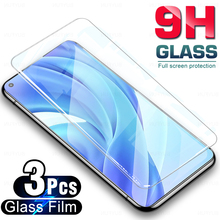 3Pcs עבור Xiaomi 11 לייט pcoc X3nfc X3pro m3 מסך מגן מגן זכוכית סרט עבור xaomi Mi 11 לייט poco x 3pro x 3nfc m 3