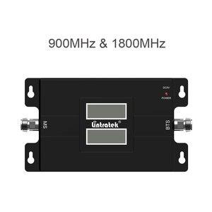 Image 4 - Lintratek repetidor de teléfono móvil 2G 4G LTE 1800 900 MHz, amplificador de señal de banda Dual GSM DCS LCD, conjunto de antena de señal móvil @