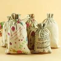 Bolsa de regalo de joyería con cordón de tela de algodón de 4 Uds., Mini bolsa de dados para juegos de mesa para adultos, aleatorios colores (9*12cm), juegos de mesa