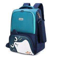 ¡Novedad! Encantadoras bolsas escolares para estudiantes y niños con orejas de gato, mochilas escolares para niñas y niños, Mochila Escolar de grado 1-3-5