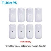 Tugard Новейший беспроводной ИК детектор движения 433 МГц с