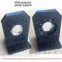 Para bosch cp1 cp2 cp3 denso cummins delphi cat320d diesel bomba de trilho comum suporte quadro ferramenta para comum banco teste ferroviário