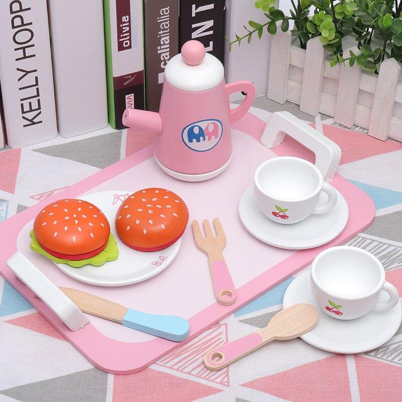 conjunto chá da tarde sobremesa corte brinquedos