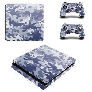 Image 2 - لون أبيض نقي غطاء كامل PS4 ملصقات ضئيلة بلاي ستيشن 4 ملصق الجلد PlayStation ستيشن 4 PS4 سليم وحدة التحكم و تحكم جلود