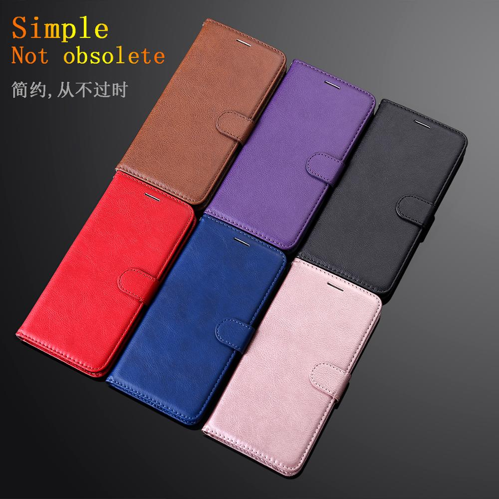 Solid color hand strap Business leather Card For Samsung A 70 40 20 30 6S 9 <font><b>7</b></font> <font><b>750</b></font> 6PIUS 6 8 <font><b>3</b></font> 2017 2018 Case Cover Phone Case image