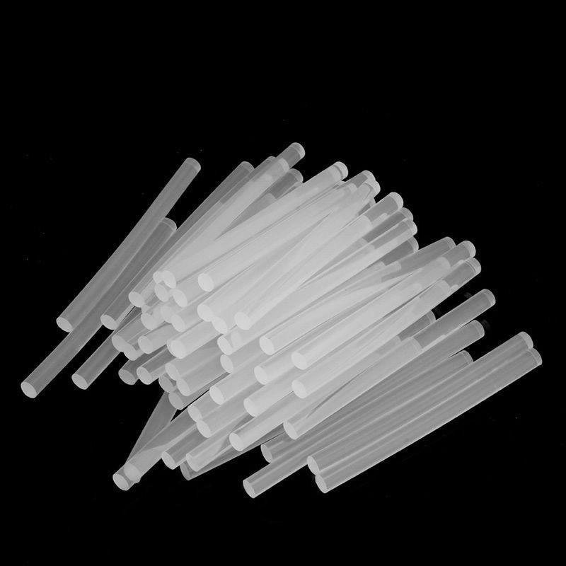 50 шт. 100 мм x 7 мм Оптовая продажа горячего прозрачного расплава клей палочки для клеевого пистолета