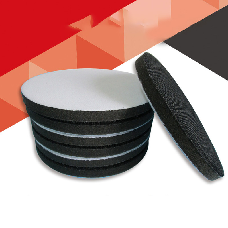 6 Inch 150mm Sponge Interface Pad Cushion Interface Pads Hook And Loop Sanding  Backing Sponge Disc Sponge Interface Pad