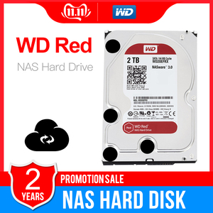 Image 1 - Western Digital WD Red NAS 2TB Hard Disk Drive  2TB 3TB 4TB   5400 RPM Class SATA 6 GB/S 64 MB Cache 3.5 Inch for Decktop Nas