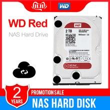 Western Digital WD Red NAS 2TB napęd dysku twardego 2TB 3TB 4TB   5400 obr./min klasa SATA 6 GB/S 64 MB pamięci podręcznej 3.5 Cal dla Decktop Nas