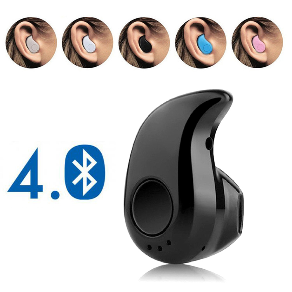 Mini Wireless Bluetooth Earphone In Ear Sport With Mic Handsfree Headset Earbuds For Samsung Huawei Xiaomi Android For All Phone