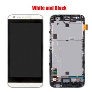 Image 3 - Dành Cho HTC Desire 620 620U 620T 620G Màn Hình LCD Màn Hình Với Ốp Mặt Trước Mặt Kính Cảm Ứng, d620h Màn Hình LCD Hiển Thị Ban Đầu Đen Trắng