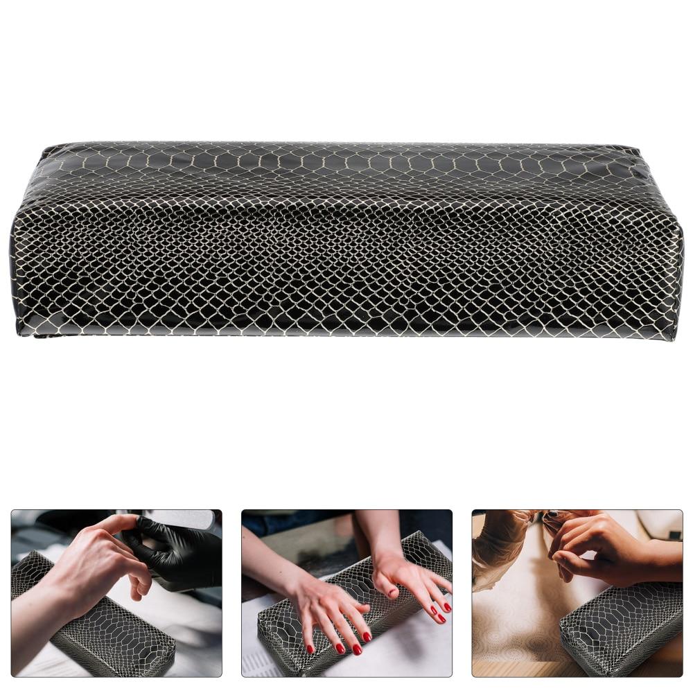 1pc Fashion Leather Hand Rest Pillows Practical Manicure Nail Art Wrist Cushion