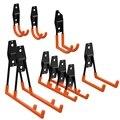 10 упаковок гаражного хранения двойные крючки  для организации электроинструментов  лестницы  оптовые товары