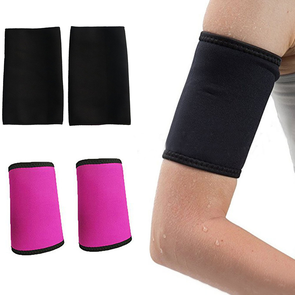 1Pair Women Sauna Arm Slimming Slimmer Sleeve Wraps Weight Loss Arm Shaper Lift Shaper Massage Arm Control Shapewear Tops New