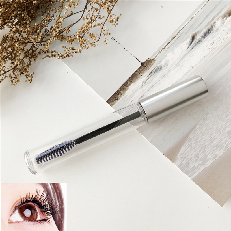 Portable Empty Black Eyelash Tube Mascara Cream Vial/Container Fashionable Refillable Bottles 10ml Makeup Tool Accessories