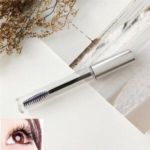 Portable Empty Black Eyelash Tube Mascara Cream Vial/Container Fashionable Refillable Bottles 10ml Makeup Tool Accessories