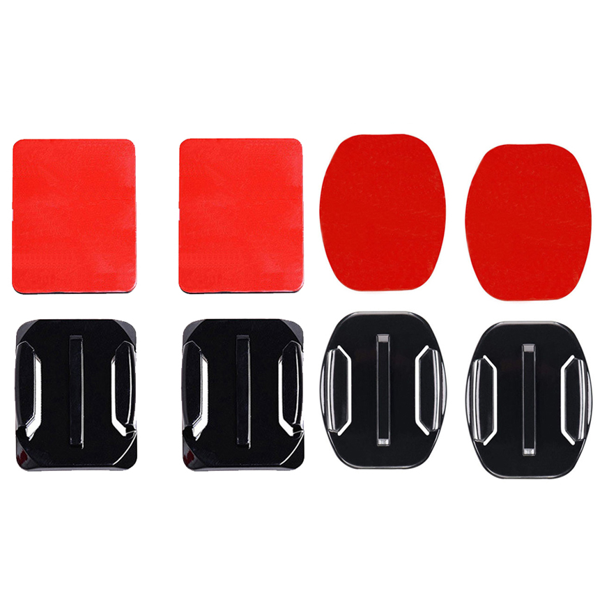 Flat Curved High Quality Mount Adhesive 3M Sticky for GoPro HD Hero 6//5//4//3+