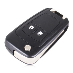 Image 3 - KEYYOU 20pcs 2/3/4/5 BT Flip Remote Key Shell Car Key Case For Chevrolet Camaro Cruze Equinox Impala Malibu Sonic HU100 Blade