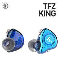 KING/HiFi Monitor en la oreja auriculares Semi-metálicos cavidad de sonido HIFI Bass Cancelación de ruido auriculares estéreo de 3,5mm en la oreja