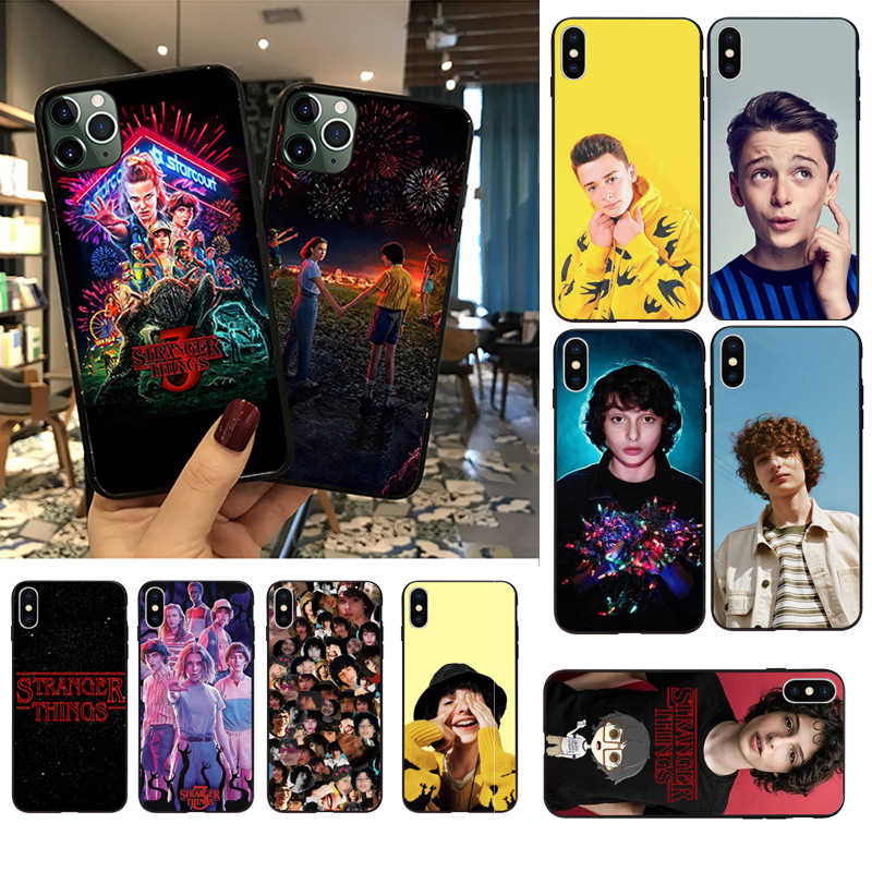 Babaite Stranger Things Сезон 3 Finn Wolfhard черный чехол для телефона для Apple iPhone 11 pro max 8 7 6 6S Plus X XS MAX 5 5S SE XR