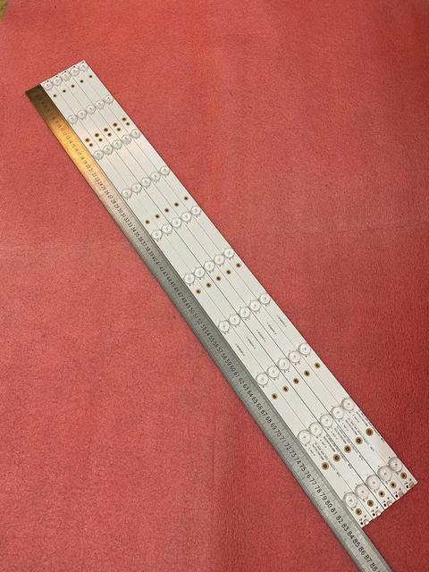 새로운 키트 5 PCS 10LED(3V) 842.5mm LED 백라이트 스트립 43PFT4131 43PFS5301 GJ 2K15 430 D510 GJ 2K16 430 D510 V4 01Q58 A