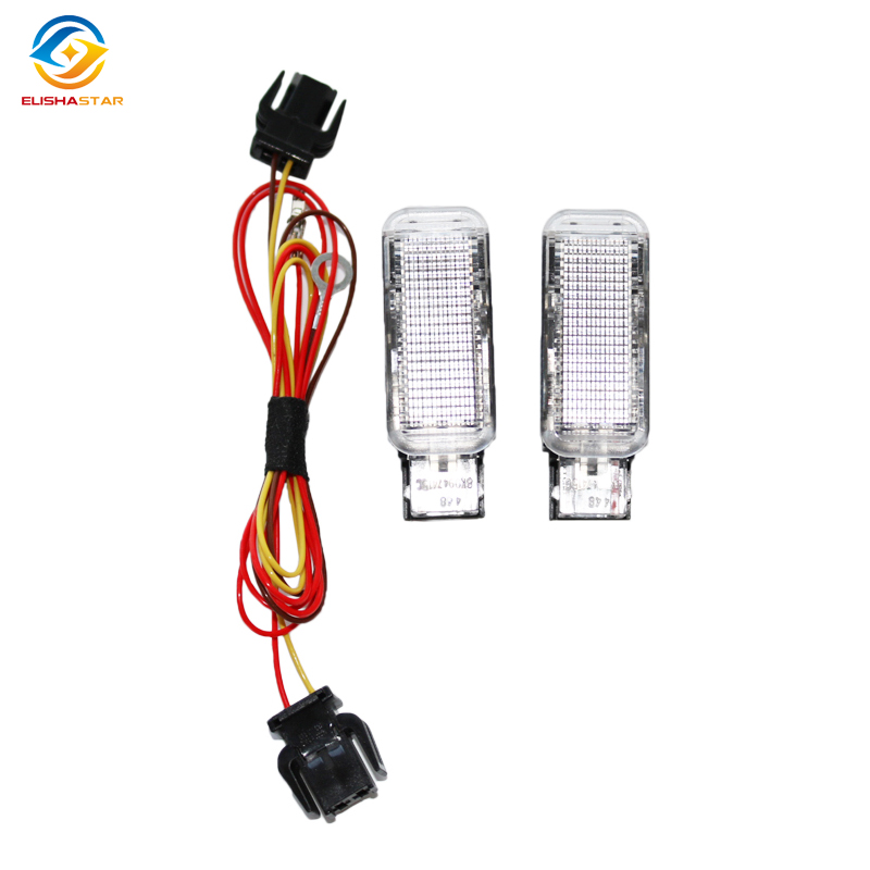 8KD 947 411 ELISHASTAR NEW White Door Warning Light Cable FOR A-udi A3 A4 A5 <font><b>A6</b></font> A7 A8 Q3 Q5 TT 8KD947411 image