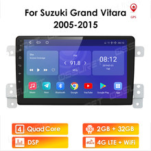 4G LTE For Suzuki Grand Vitara 3 2005 - 2015 Car Radio Multimedia Video Player Navigation GPS Android 10 2 din NON dvd