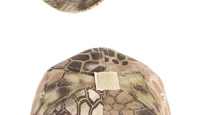17 Colors Camo Men's gorras Baseball Cap Male Bone Masculino Dad Hat Trucker New Tactical Men's Cap Camouflage Snapback Hat 2020 22