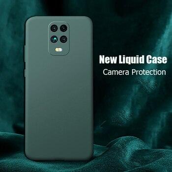 For Xiaomi Redmi Note 9S Case New Liquid Silicone Soft Matte Camera Protection Cover For Redmi Note 9 Pro Max Redmi 9 Phone Case 1