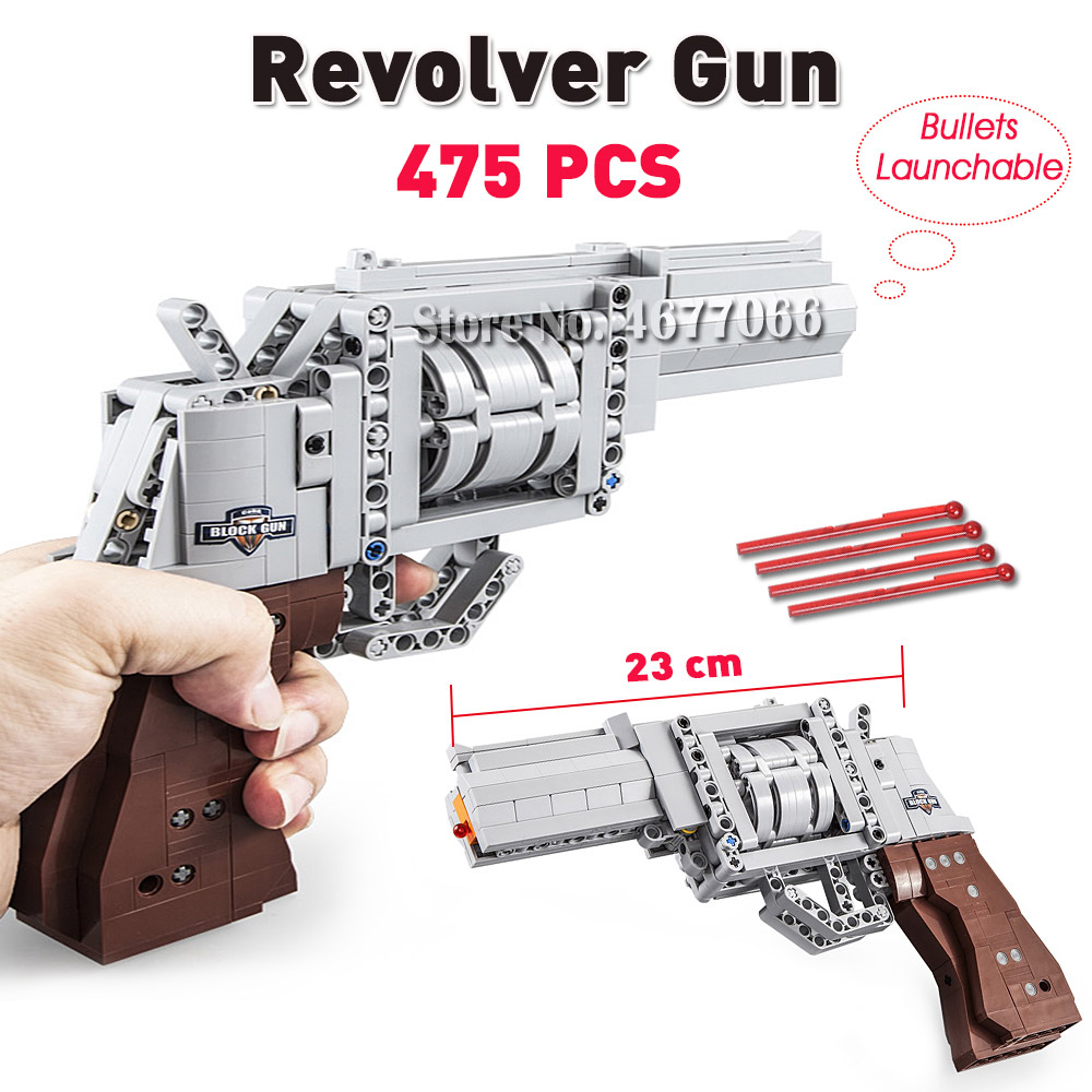 Revolver Gun-475PCS