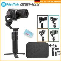 Feiyu G6 Max 3 Axis Handheld Camera Gimbal Stabilizer for Mirrorless camera Pocket Camera GoPro Hero 7 6 5 Smartphone