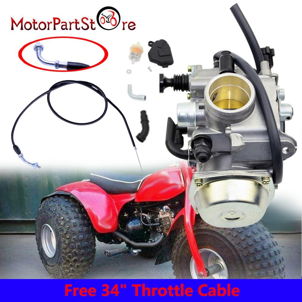 Honda Quad ATC Big Red Foreman Rubicon Rancher Sportrax Trx Fourtrax ATV Mirrors