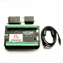 300KHz 24VDC MACH3 USB Motion Control Card UC300 NVUM CNC Standard Board 3 4 5 6 Axis CNC Controller Support MPG(China)