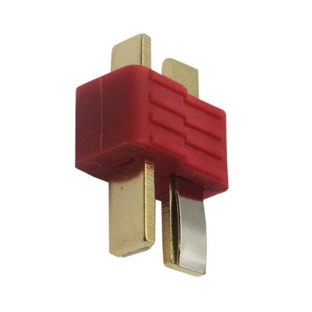 10 pcs New T-Plug Non-slip Connector Male Deans For Deans RC Lipo Battery Helicopter 100A Gold plated Deans 5