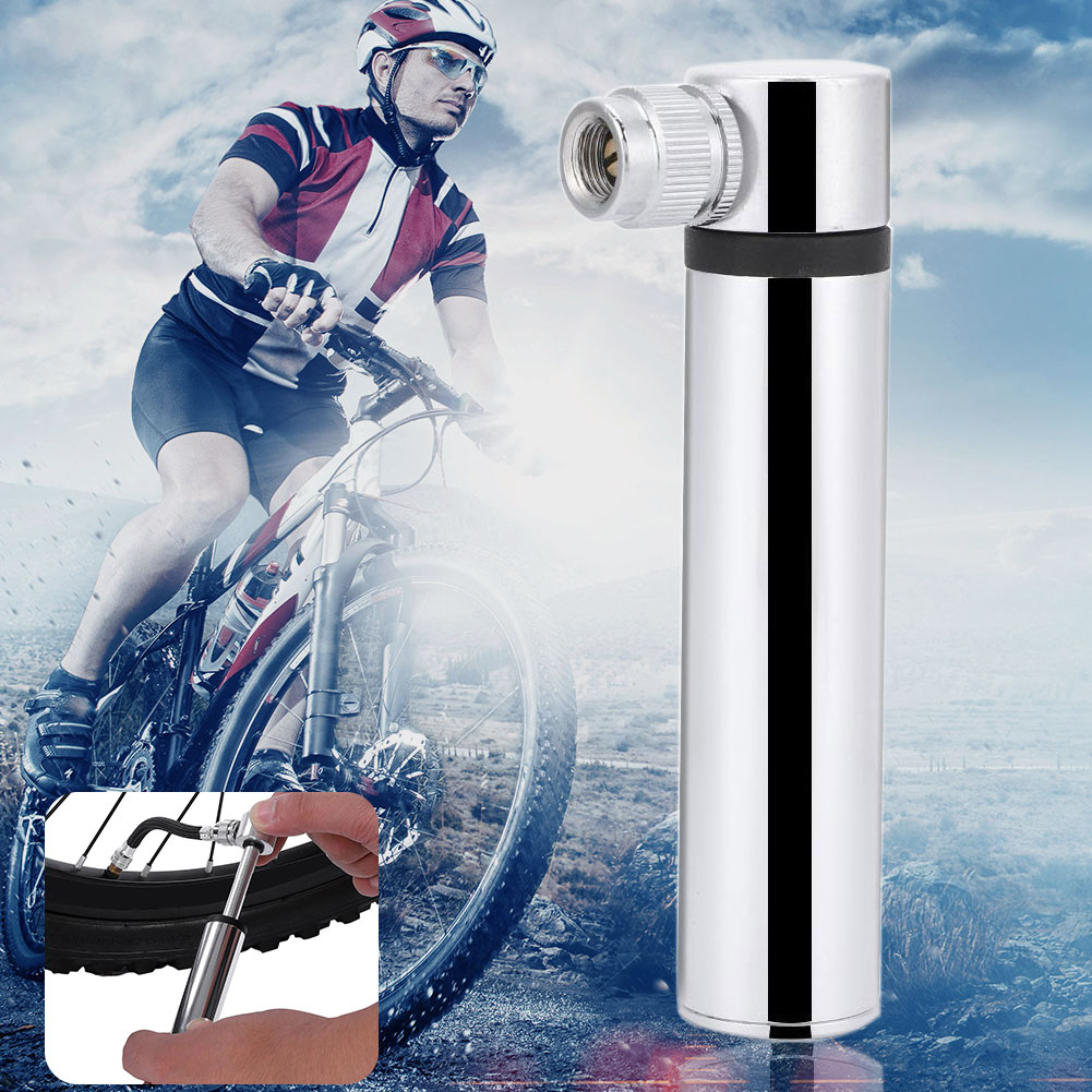 Basketball Mini Portable Cycling Lightweight Accessories Aluminum Alloy Air Inflator Fast Bicycle Pump Tools Tire Outdoor