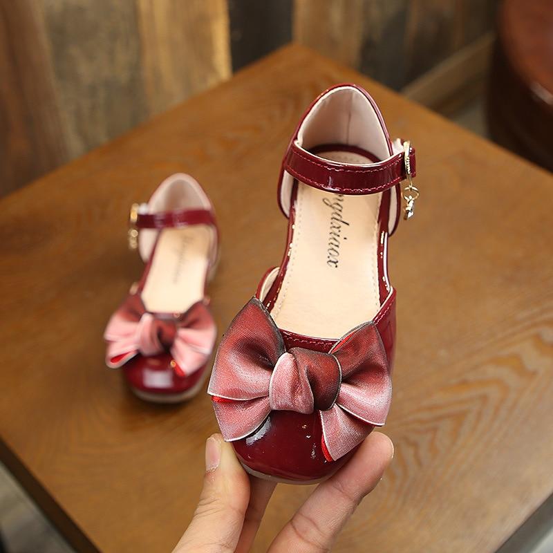 GINFIVE Toddler Girls Sandals Princess Flats Sandals Girls Shoes Toddler//Little Kid