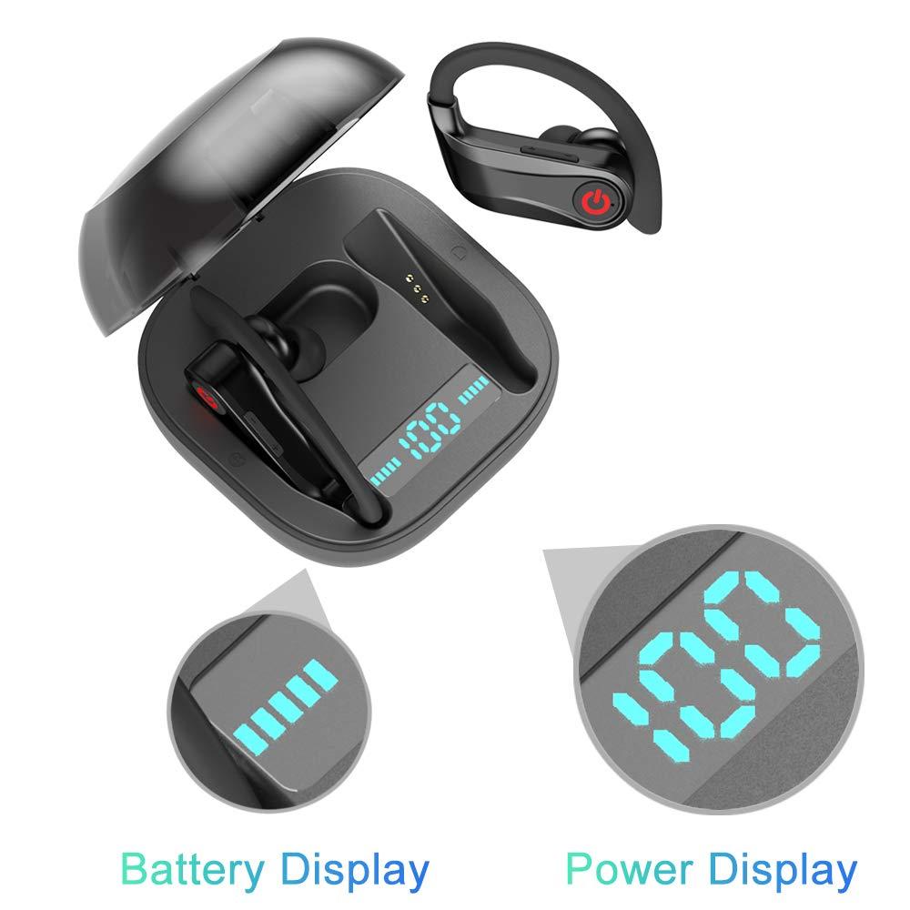 HBQ Pro HBQ Q62 Sport Bluetooth Earphone Wireless Earphones TWS Stereo Sport Ear Hook Headset 950mah Headsets HD MIC