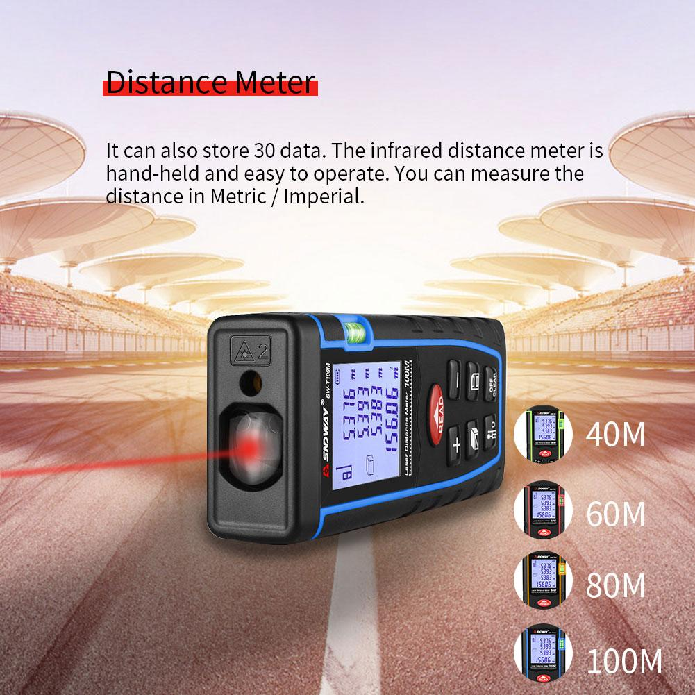 Infrared Distance Meter Electronic Distance Measuring Room Instrument