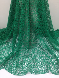 1yard New Design African Lace Fabric 2020 High Quality Lace African cord Lace Nigerian Lace Fabrics for Dress