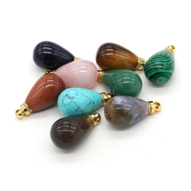 Natural gem stone essential oil di