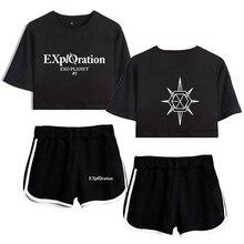 EXO Bias Crop Top & Shorts Set (26 Models)