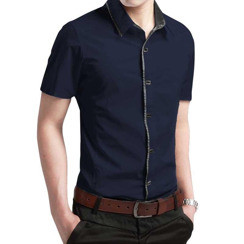 Men  Shirt Cotton Spring Autumn Shirt Men Soft Cherecked Slim Fit Shirt  Clothes