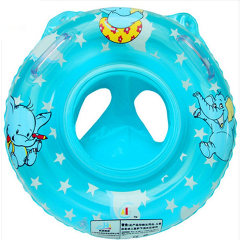 Baby Infant Swimming Lifebuoy Inflatable Bath Toys Play Water Cartoon Animals Fun Safe Bathing Toys 0-5T 1PC