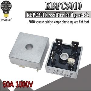 1PCS KBPC5010 diode bridge rectifier diode 50A 1000V KBPC 5010 power rectifier diode electronica componentes