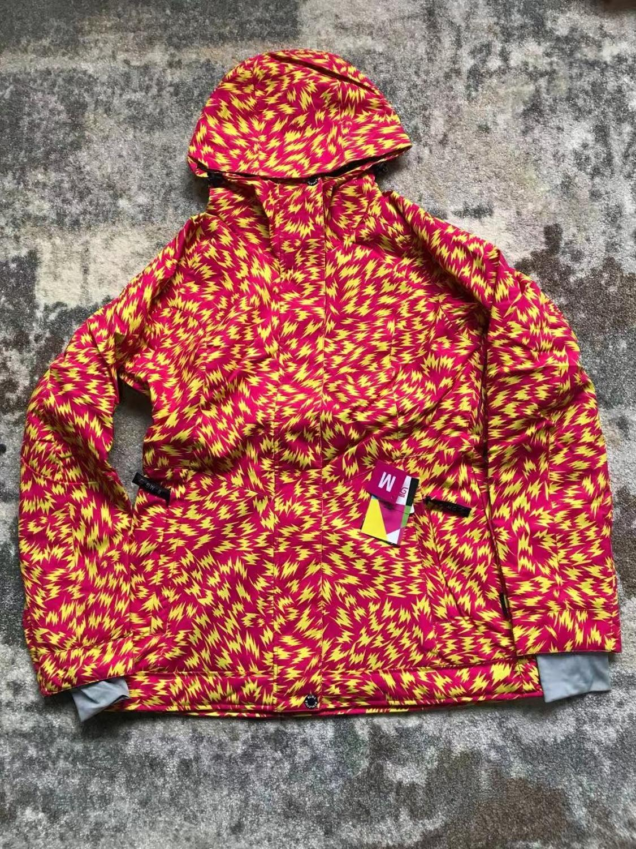 Новое поступление, куртки для сноуборда bluemagic, женский лыжный костюм, зимние уличные Водонепроницаемые зимние костюмы, женская одежда, тонкое пальто, дышащая - Цвет: ORANGE LIGHTING