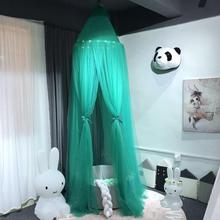 Baby Canopy Decoration Hanging Led-Lighting Dome Mosquito-Bedcover Child for Playing