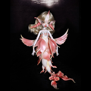 Image 4 - Shuga Fairy 1/4 Uzoi BJD Dolls Resin Model Fashion Figure Toys For Girls boys gift Dolls