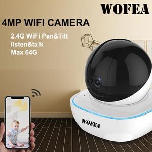 Image 1 - Беспроводная IP камера видеонаблюдения WOFEA, 1080P/ 4 МП, Wi Fi